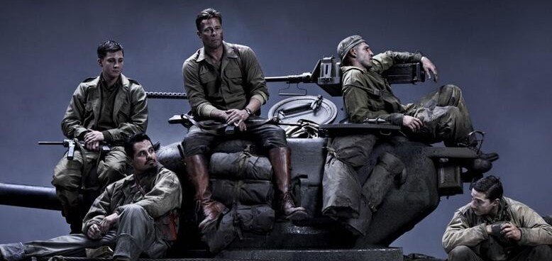 New pictures from the film Fury