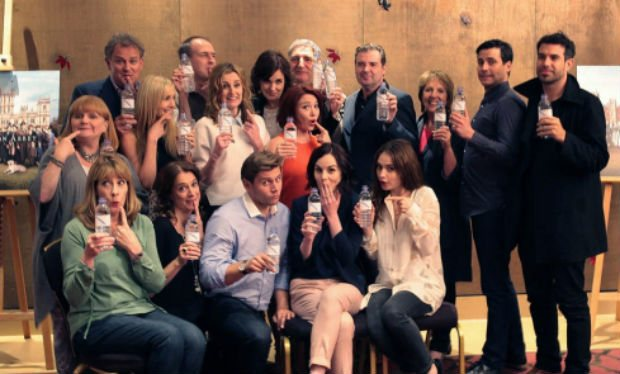 Downton Abbey Water Bottle Promotion