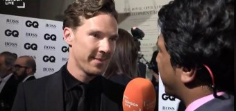 Benedict Cumberbatch Discusses Awards, Home and his Love for London
