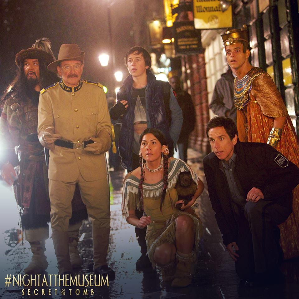 night at the museum regent street christmas lights - film and tv now