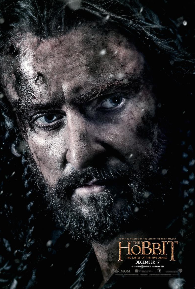 richard armitages thorin oakenshield poster for the