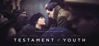 First Poster for 'Testament Of Youth' Starring Kit Harington and Alicia Vikander