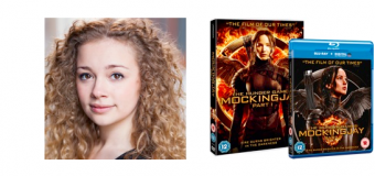 Vlogger Carrie Hope Fletcher Launches Singing Competition to Celebrate THE HUNGER GAMES: MOCKINGJAY  PART 1 DVD & Blu-ray Release
