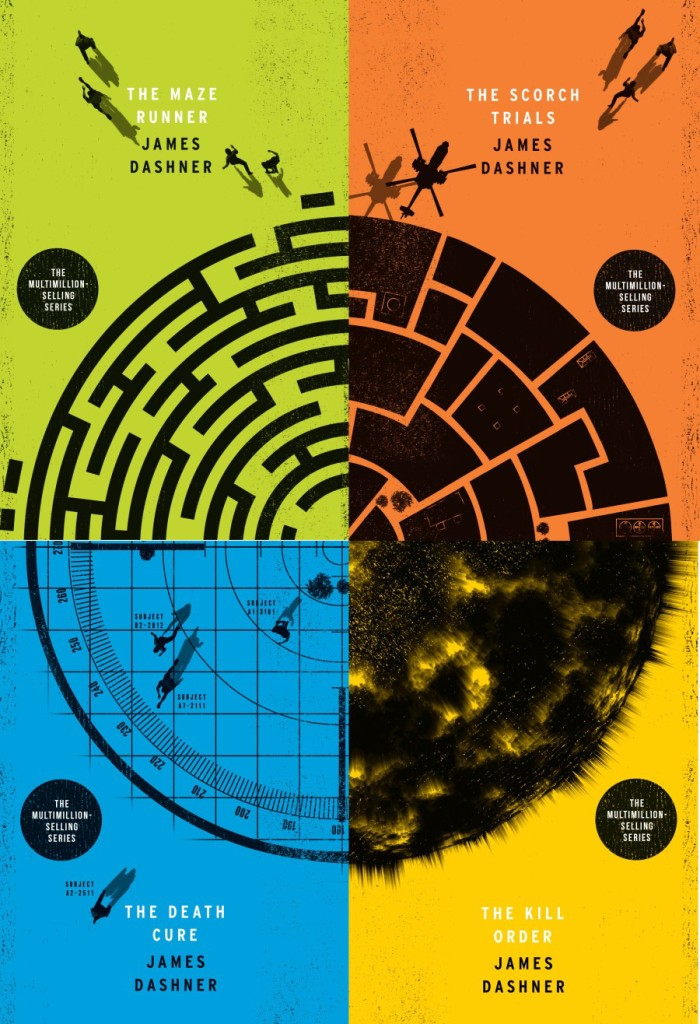 Cool Book Cover Ups : Brand new maze runner adventure gives fans the chance to