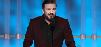 Ricky Gervais To Host The Golden Globes Once Again