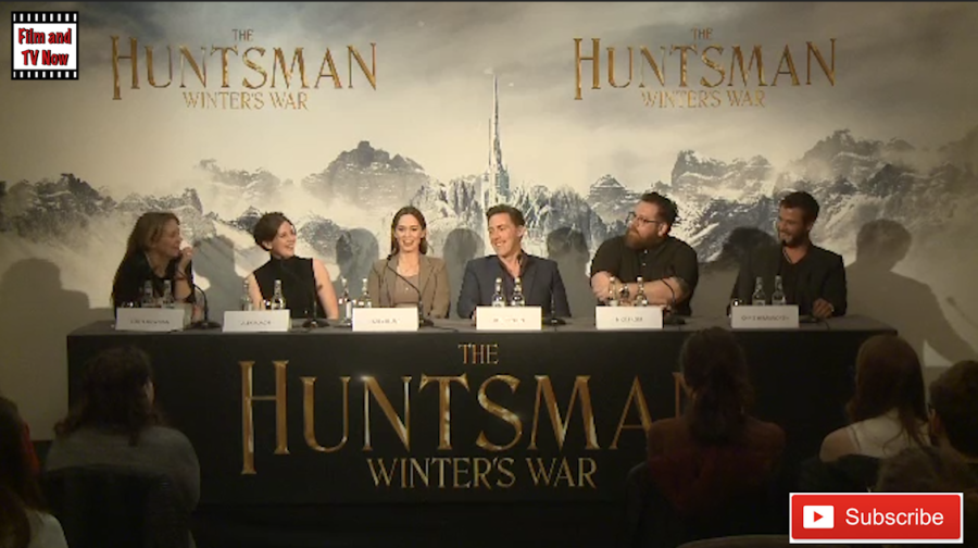 The Huntsman: Winter's War press conference