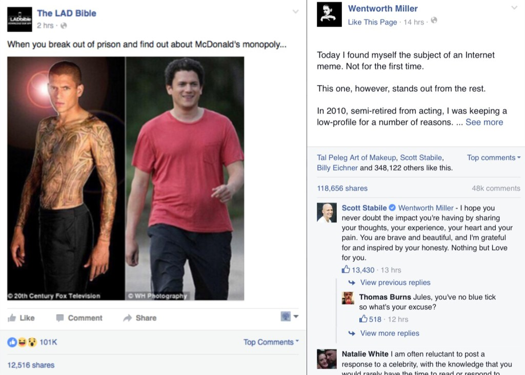 image 3 1024x732 wentworth miller responds to the lad bible meme