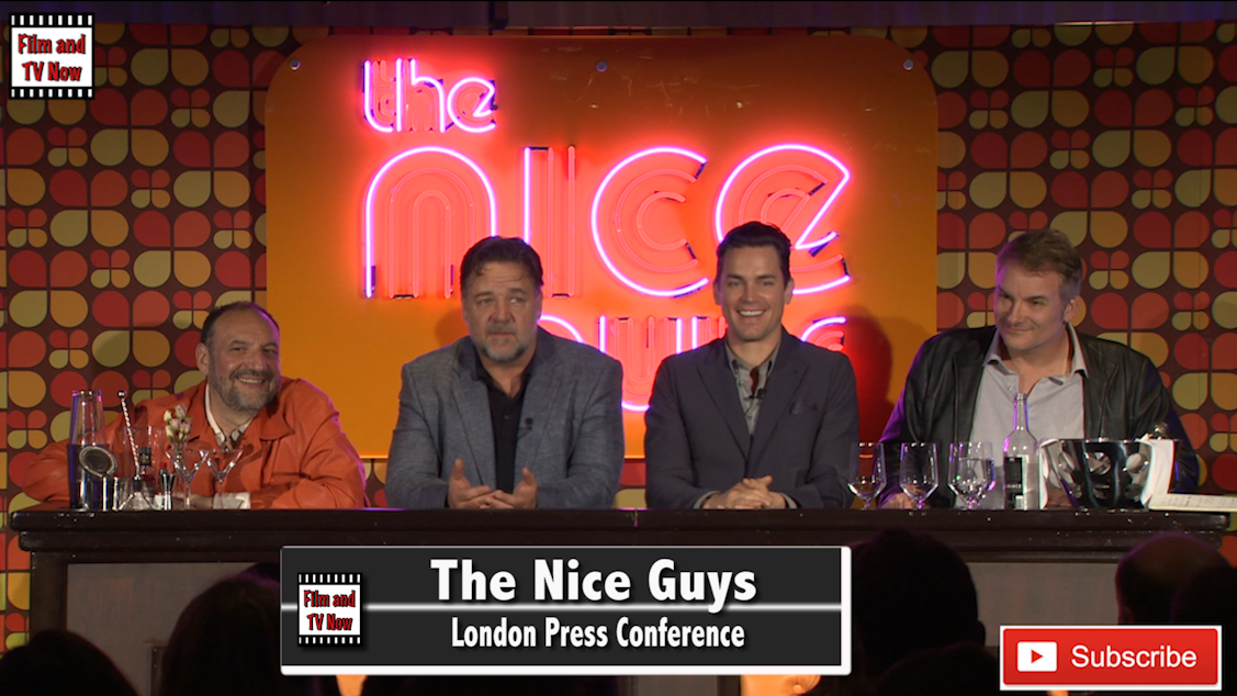 The Nice Guys Press Conference