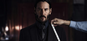 John Wick: Chapter Two Keanu Reeves Strikes A Pose In New Teaser Poster