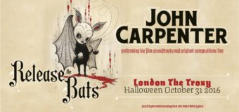 John Carpenter In Concert Or The Night 'He' Came Home….To London!