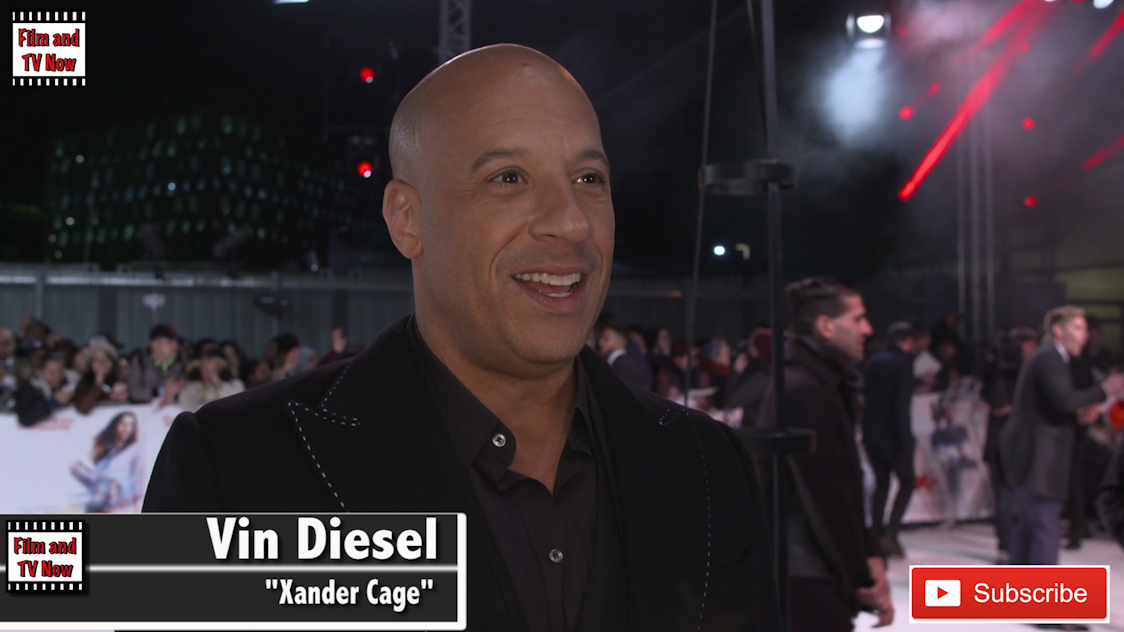 xXx: Return of Xander Cage UK Premiere