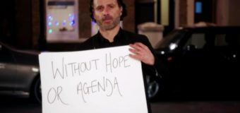 Andrew Lincoln & His Declaration Cards Are Back In First Love Actually 2 Red Nose Day Trailer
