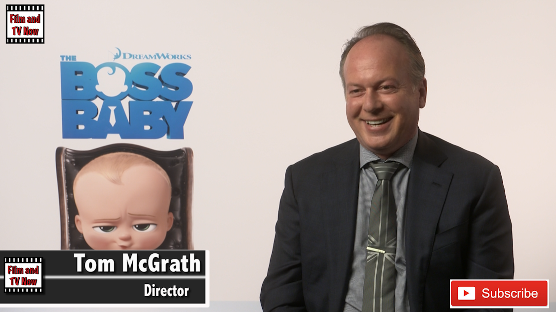 Tom McGrath interview The Boss Baby