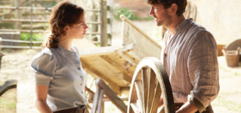First Look Images Released Featuring Lily James & Michiel Huisman From The Guernsey Literary And Potato Peel Pie Society