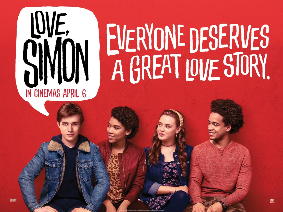「Love, Simon uk quad poster」的圖片搜尋結果