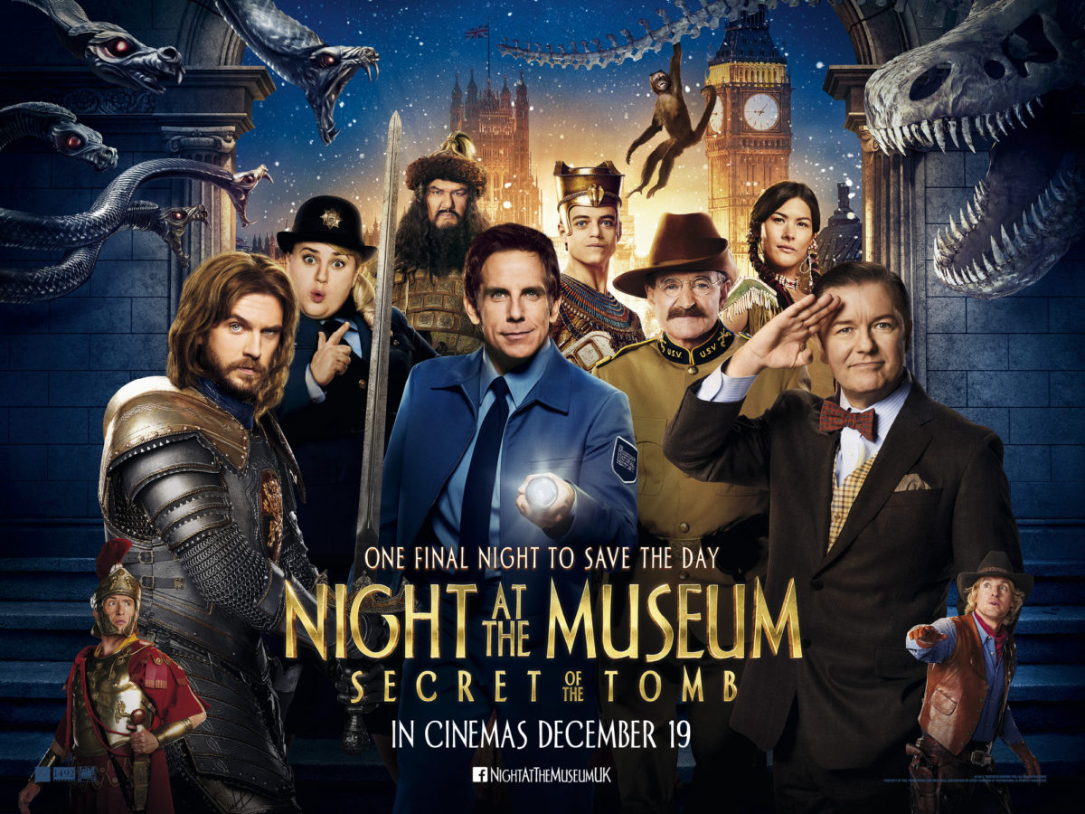 Night at the Museum 3: Secret of the Tomb New Trailer Arrives