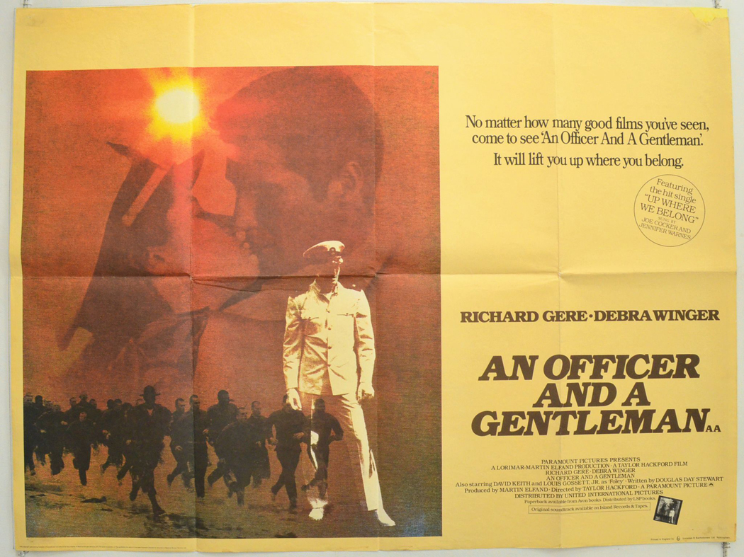 an officer and a gentleman - cinema quad movie poster (1).jpg ...
