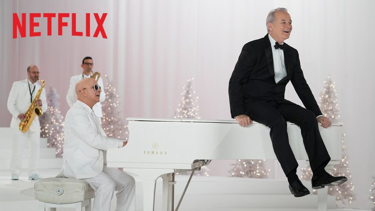 A Very Murray Christmas.A Very Murray Christmas Review Deck The Halls With Indie