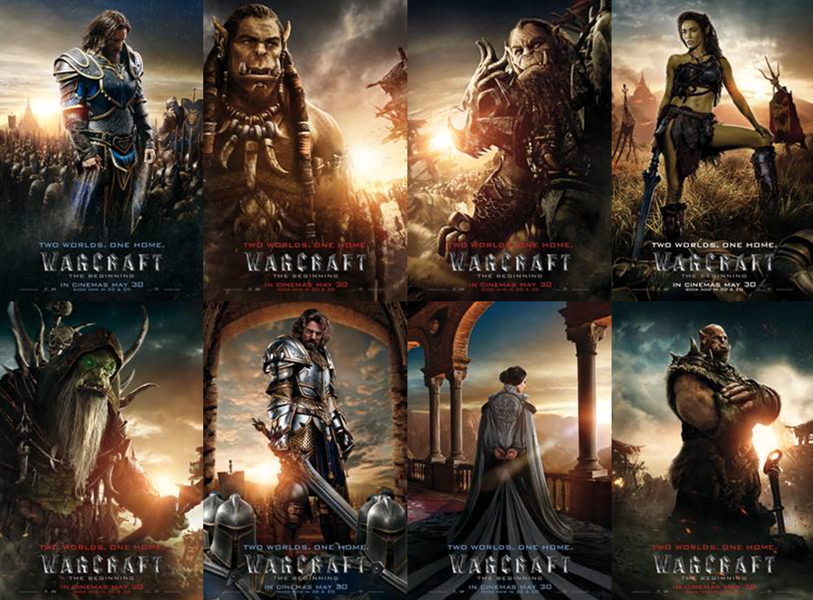 Warcraft The Beginning Eight Brand New Character Posters Debut