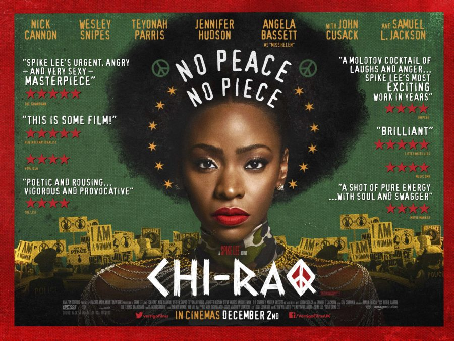 Poster for Spike Lee's Chi-Raq (2015)