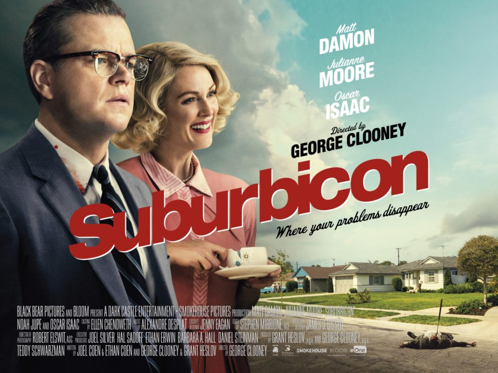 Suburbicon: New poster starring Matt Damon and Julianne Moore