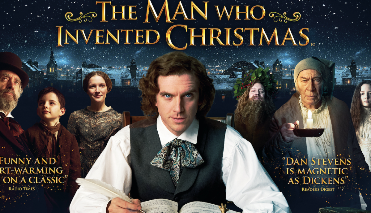The Man Who Invented Christmas Poster.The Man Who Invented Christmas New Uk Poster Film And Tv Now