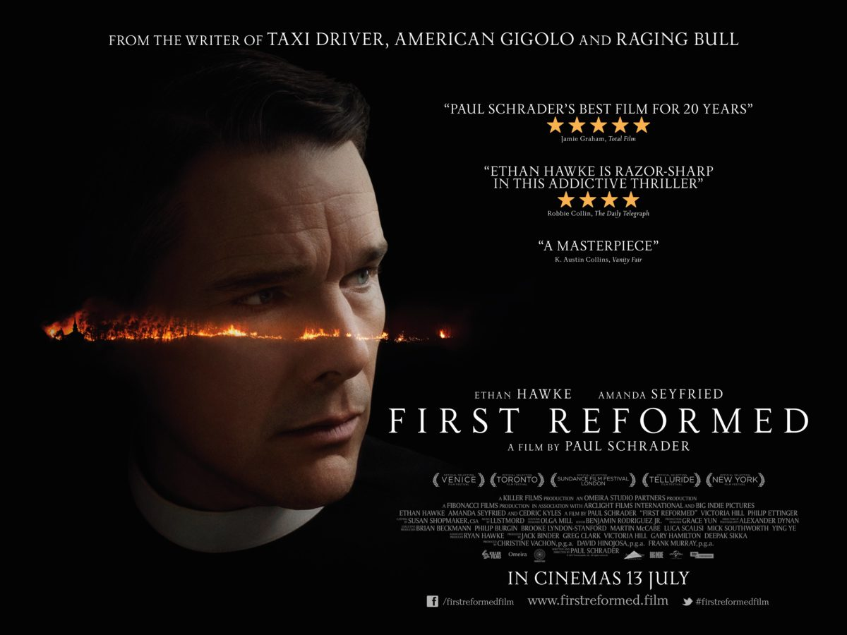 First Reformed gets a new UK trailer and poster - Film and TV Now