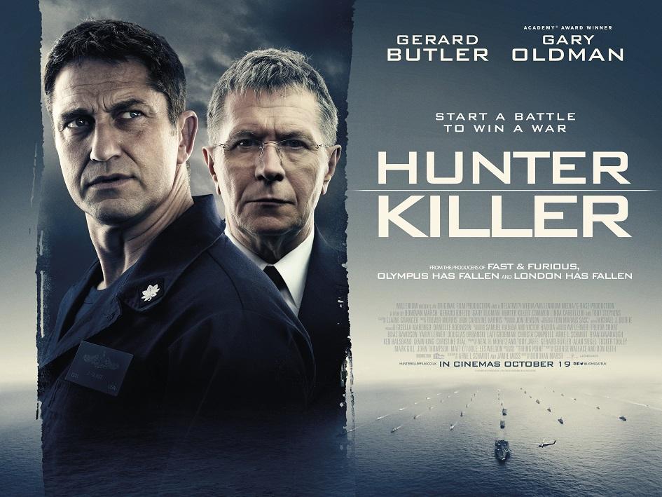 Resultado de imagem para hunter killer Donovan Marsh poster