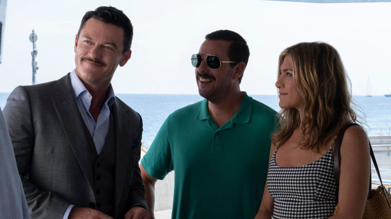 Adam Sandler & Jennifer Aniston are back in action in the