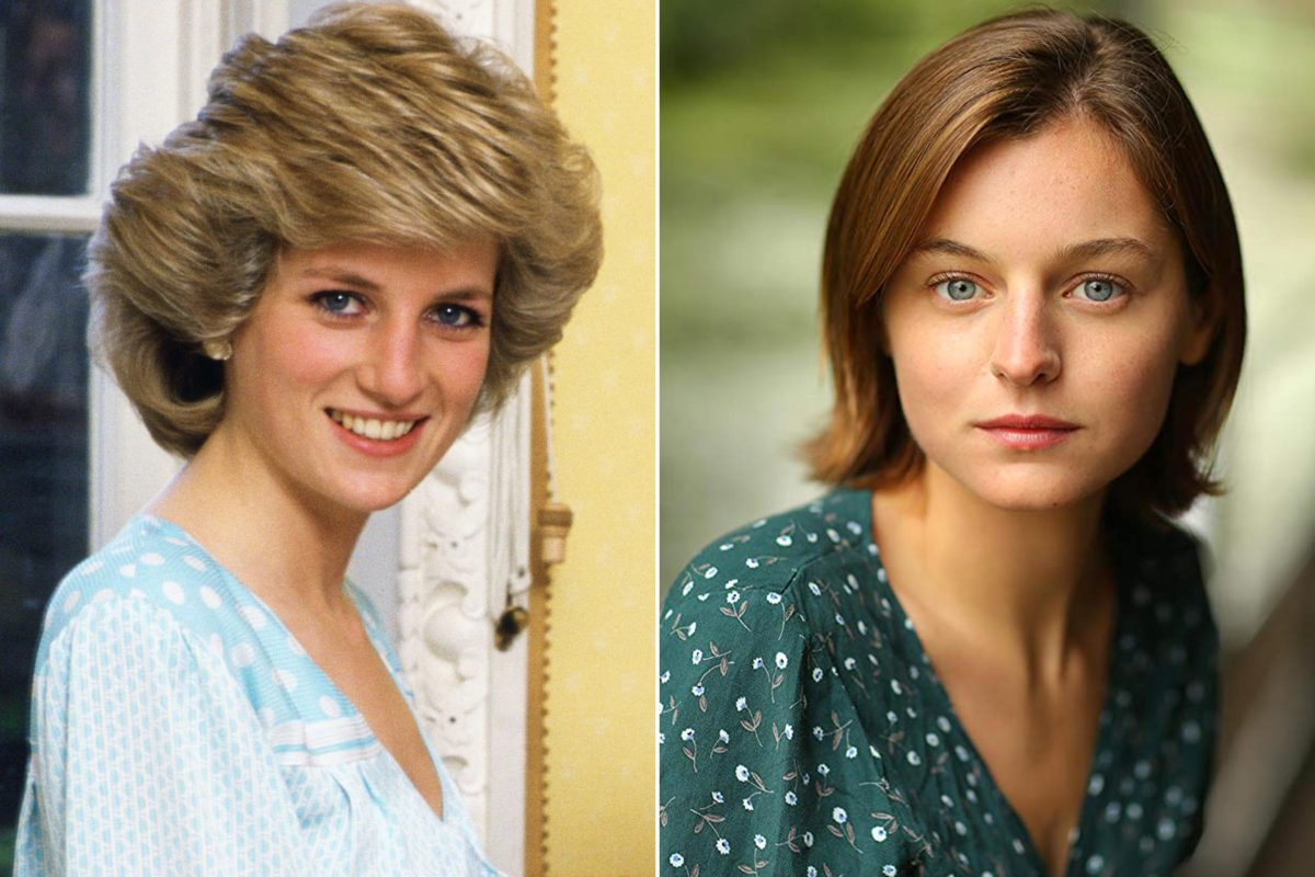 The Crown: Newcomer Emma Corrin cast as Princess Diana