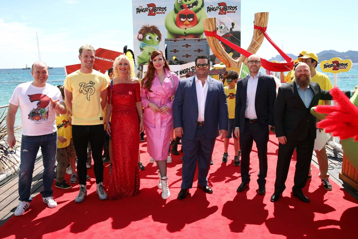 The Angry Birds Movie 2 Arrives in Cannes & Unveils Sneak