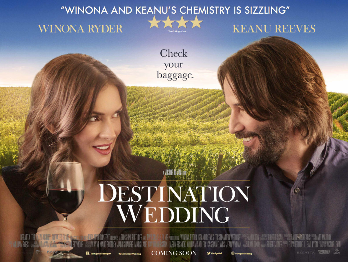 Destination Wedding Review.Destination Wedding Review Keanu Reeves Winona Ryder Are A Great