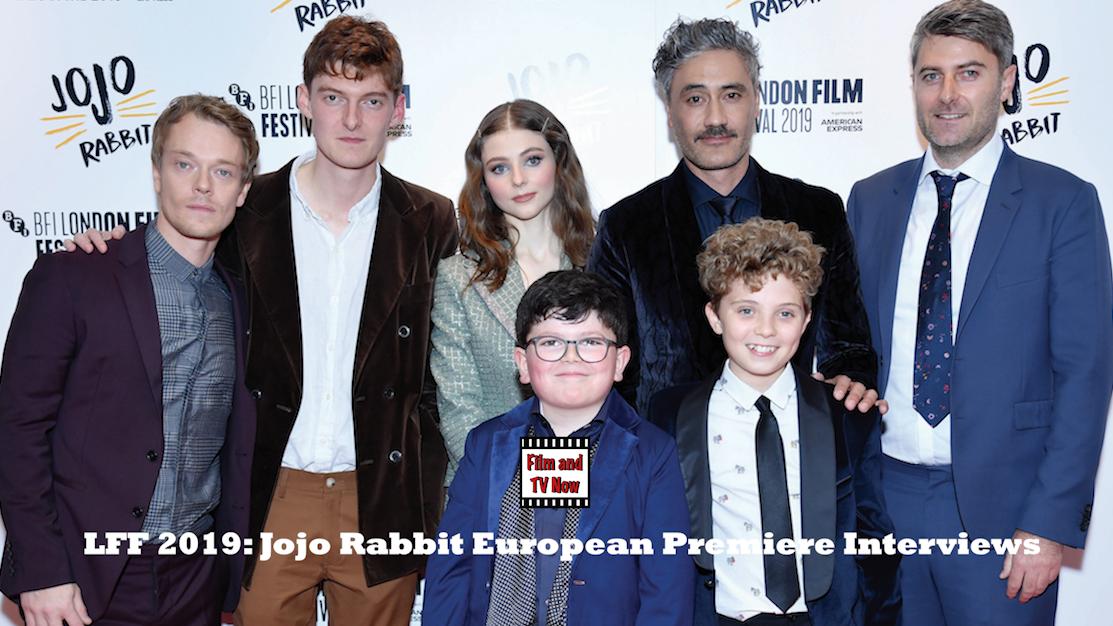 Jojo Rabbit Cast >> Lff 2019 Jojo Rabbit European Premiere Red Carpet Interviews