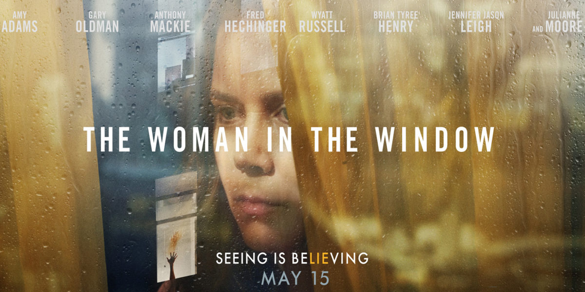 The Woman In The Window- Film Poster